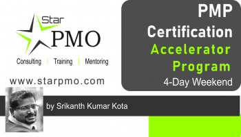 StarPMO PMP Certification Accelerator Program  Pune Oct18
