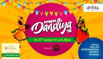 Fitness Dandiya - 2k18 followed by Agam