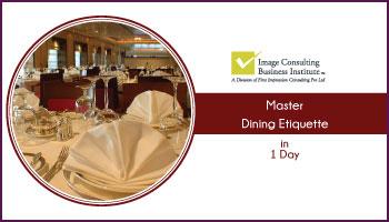 ICBI Dining Etiquette Workshop (24-Nov, Vadodara)