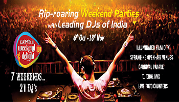 Weekend DJ Delight at Ramoji Film City