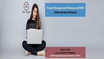 PMP Online Training by PMI R.E.P. - Evening batch for working professionals