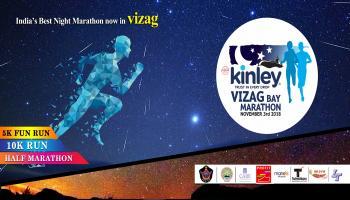 Kinley vizag bay marathon