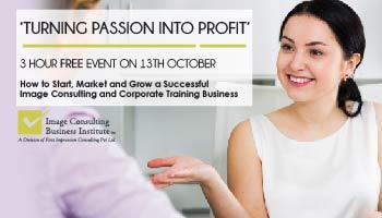 ICBI Event: Turning Passion Into Profit (13-Oct, Vadodara)