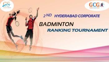 2nd Hyderabad Corporate Badminton Ranking Tournament