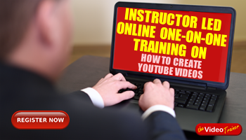 Instructor Led One-on-One Online Training On How To Create YouTube Videos