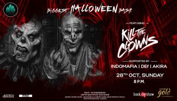 Biggest Halloween Bash ft. Kill The Clowns