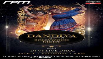 Dandiya With Live Dhol By Party Out Delhi
