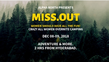 All Women Camp MISSOUT   Camping and Adventure (Very Safe) Experience for Women    Ananthagiri Hills   Camping near Hyderabad   Women only Travel