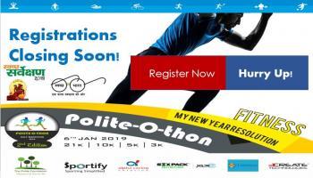 Polite-O-thon Half Marathon 2nd Edition 6th Jan 2019