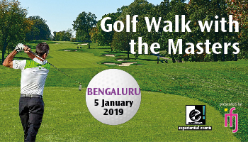 Golf Walk With The Masters - Bengaluru