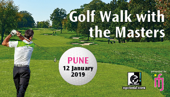 Golf Walk With The Masters - Pune