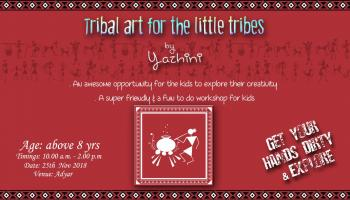 Tribal Art for the Little Tribes By Yazhini