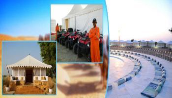 Desert safari  Adventure Sports  in Jaisalmer By Garh Rajputana camps
