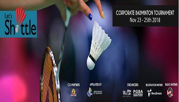 Lets Shuttle Corporate Badminton Tournament 2018