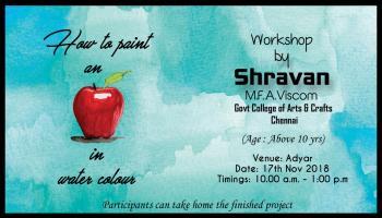 Water Colour Workshop By Shravan