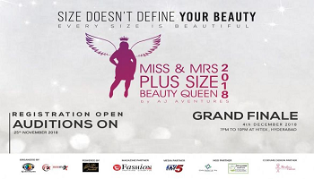 MISS AND MRS PLUS SIZE BEAUTY QUEEN 2018