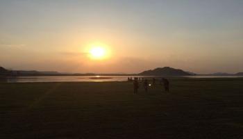 Camping Beneath Skies at the Koil Sagar