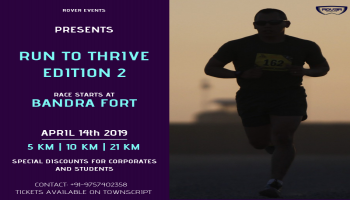 RUN TO THRIVE - EDITION-2 (HALF MARARTHON)