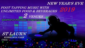 New Year Eve  at Roof Top Poolside at St Laurn Hotel