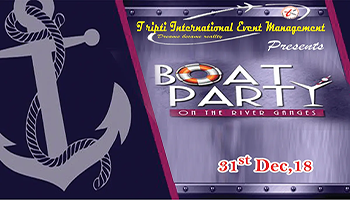 Boat Party on 31st December 2018
