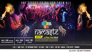 NAMASTE 2019 at Club29, Wakad