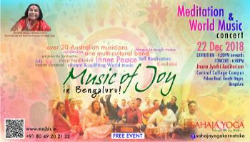 Music of Joy - A Meditation and World Music Concert
