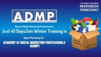 ADMP Gwalior Winter Training Program in Digital Marketing