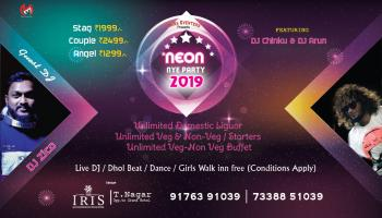 Neon Party NYE 2019