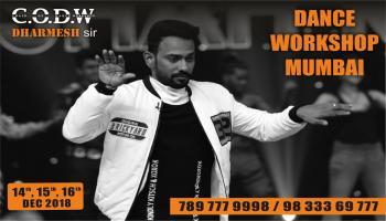 Chain of Dance workshops- Dharmesh Yelonde season 4