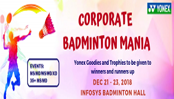 CORPORATE BADMINTON MANIA