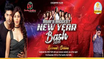 Country Club Delhi Asias Biggest New Year Bash 2019