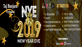 New Year Eve 2019 at Taj Banjara
