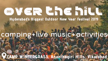 Over the Hill | New Year Eve Party 2019 |  Live Music | Camping | 80 KMS from Hyderabad | Camp Winter Grass | Ananthagiri Hills | Vikarabad | Outdoor Party
