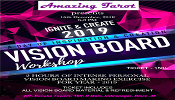 Personal Vision Board - 2019