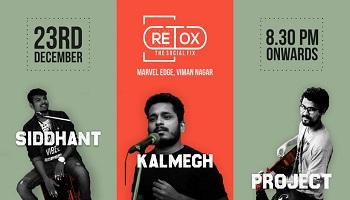 RETOX Live ft Siddhant Kalmegh Project