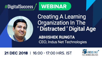 Webinar - Creating A Learning Organization In The Distracted Digital Age