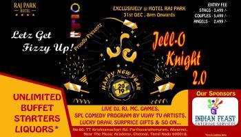 JellO Knight New Year 2k19 With Insta Eventz...