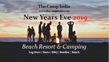 New Years Eve 2019 - Beach Resort and Camping - Alibaug