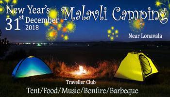31st New Year   Malavli Camping