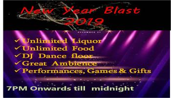 New Year Blast 2019 -- 30 percent 0ff this week only
