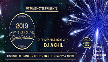 octave hotel presents 2019 new years eve grand celebration
