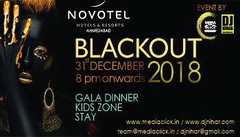 BLACKOUT 2018 by DJ Nihar Novotel Ahmedabad
