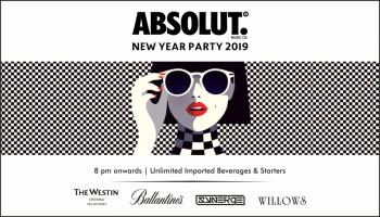 Absolut Official New Year Party 2019