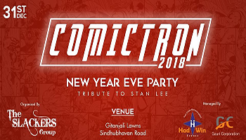 COMICTRON 2018 - New Year Party