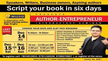 FINAL SEMINAR - Author-Entrepreneur Workshop