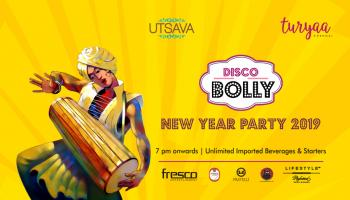 DISCO BOLLY New year party 2019