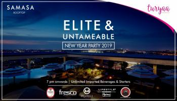 ELITE AND UNTAMEABLE New Year Party 2019