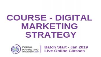 Course - Digital Marketing Strategy By Digital Marketing University
