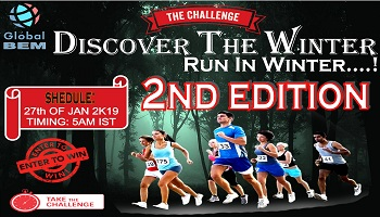 DISCOVER THE WINTER - RUN IN WINTER 2nd EDITION