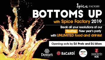 Bottoms Up with Spice Factory Hinjewadi 2019